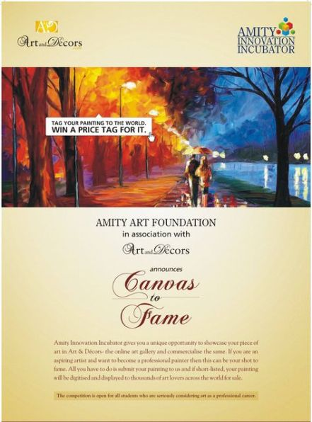 Art and Decors Partners with Amity Art Foundation