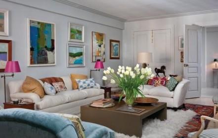 Artanddecors.com - Eclectic Living Room